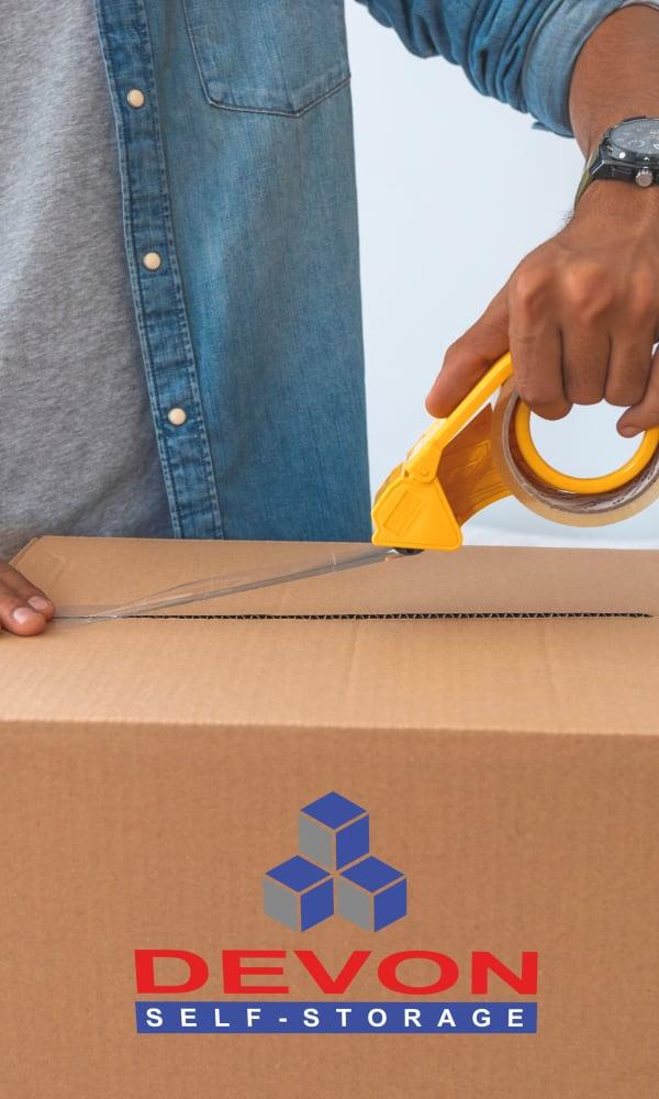 Devon Self Storage moving supplies in Fort Worth, Texas