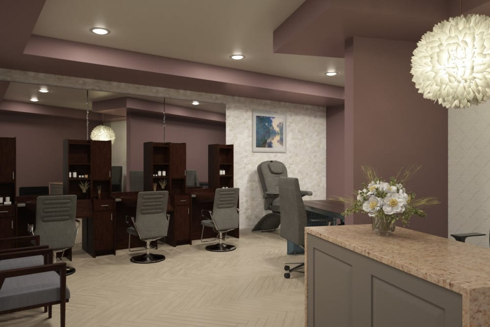 Onsite salon for residents at Anthology of Midlothian - Opening Early 2021 in North Chesterfield, Virginia