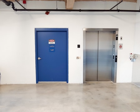 Elevator at StorQuest Self Storage in North Miami, FL