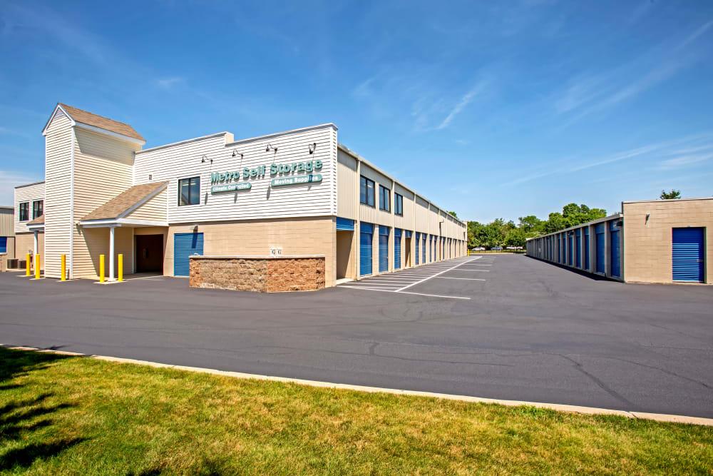 Facility exterior view at Metro Self Storage in Southampton, New York