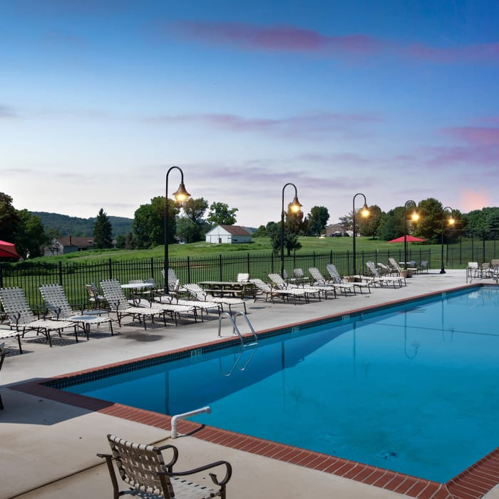 Amenities at apartments in Thorndale