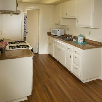 Updated kitchen appliances at Chatham Village