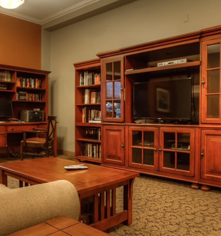 Media Room at Royalton Place in Milwaukie, Oregon