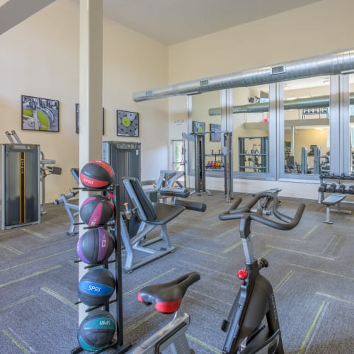 View virtual tour of our fitness center at Presley Oaks in Charlotte, North Carolina