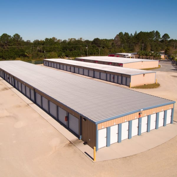 Exterior view of building c at America's Mini-Storage and Office Complex in Port St. Joe