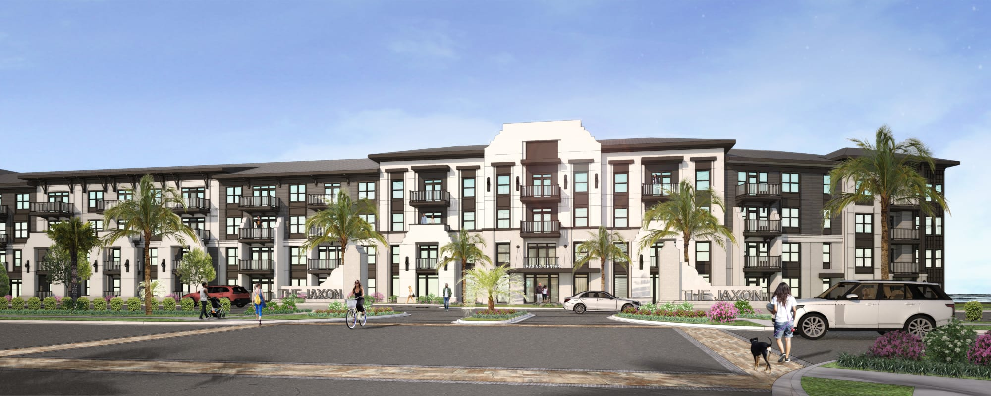 Exterior rendering of The Jaxon in Jacksonville