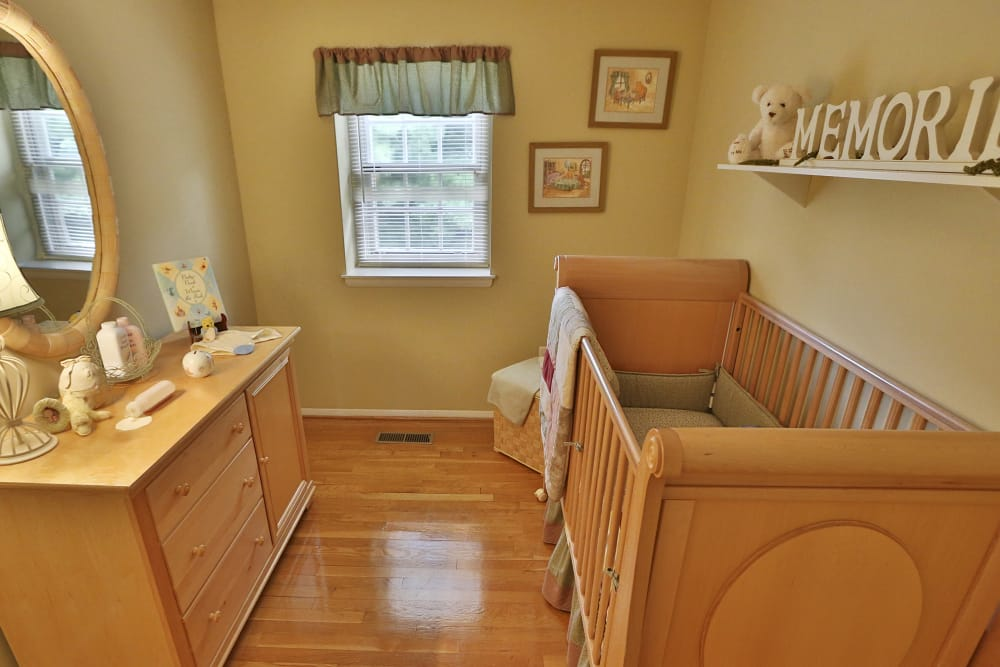 Kids bedroom layout at The Orchards at Severn in Severn, Maryland