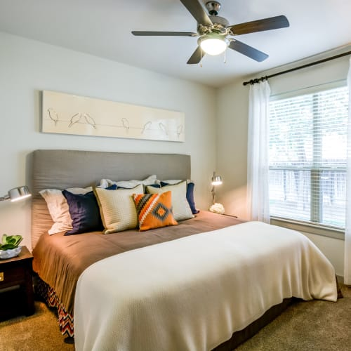 View virtual tour for 1 bedroom 1 bathroom unit at Firewheel Apartments in San Antonio, Texas
