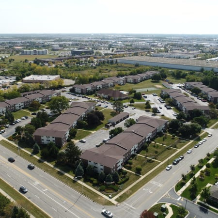 Neighborhood photo of Riverstone Apartments in Bolingbrook, Illinois