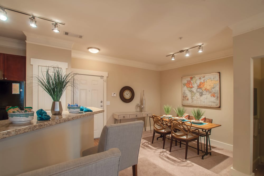 Dining Room at Atlanta apartments