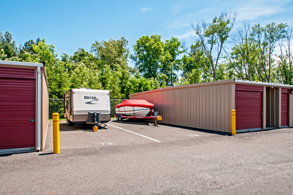 RV and boat storage at Metro Self Storage in North Wales, Pennsylvania