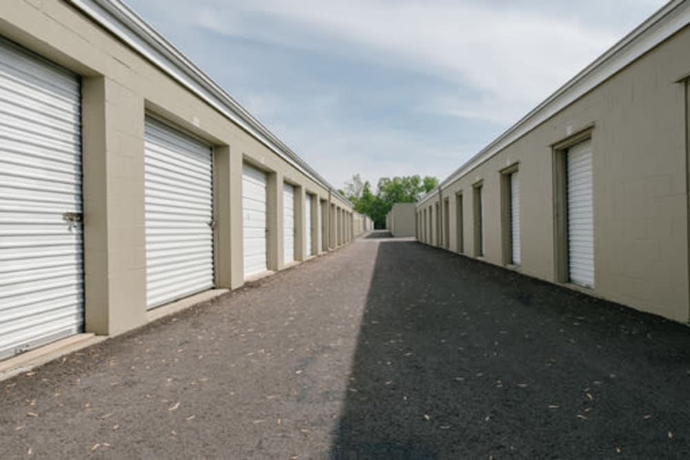 Easy access self storage units at StayLock Storage in Muncie, Indiana