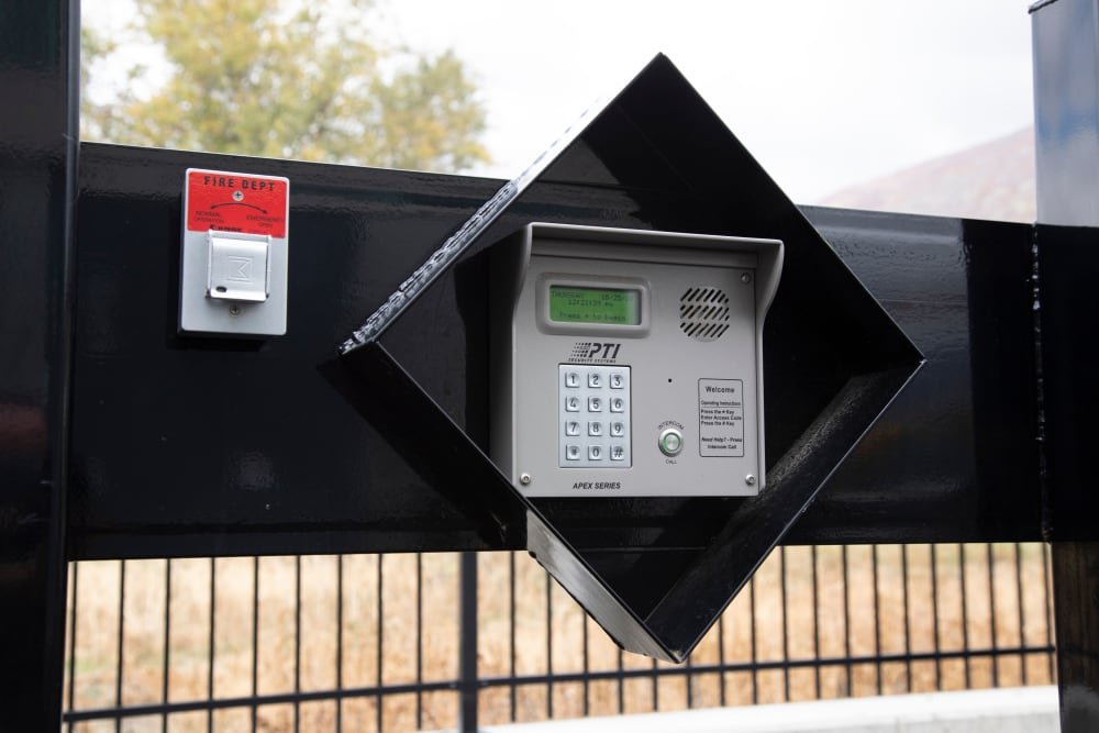Security at Lock It Up Self Storage in Ogden, Utah