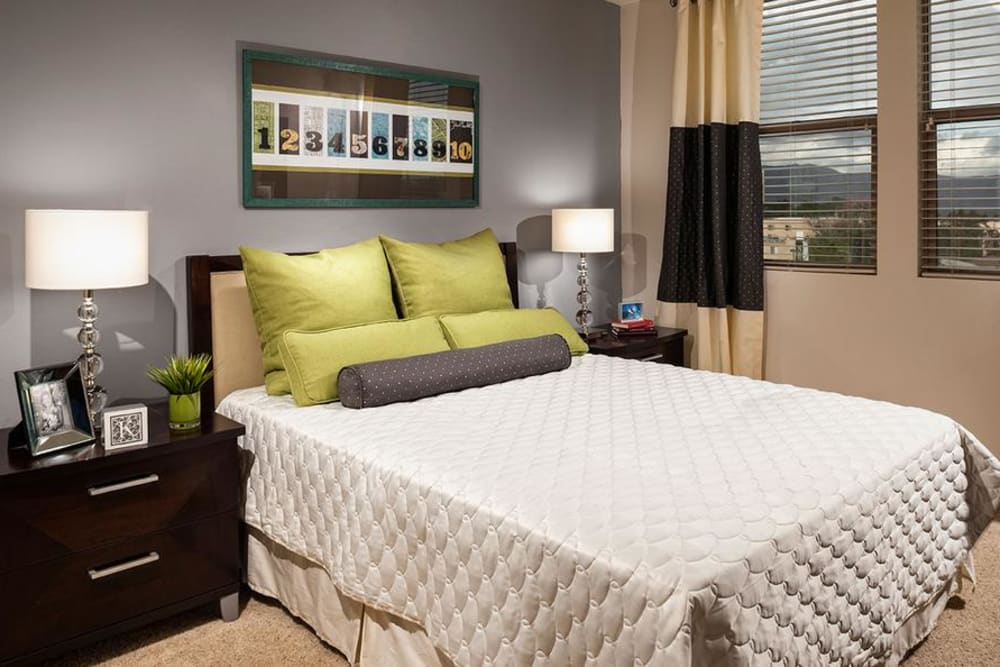 Well Decorated Bedroom at Avana North Hollywood Apartments in North Hollywood, CA
