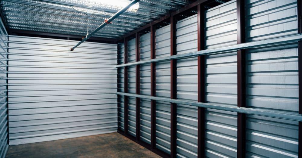Storage units at LockBox Self Storage in Winston-Salem, North Carolina