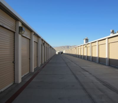 Self storage units for rent at Absolute Self Storage in Thousand Palms, California