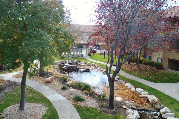 Enjoy the neighborhood at Shadowbrook Apartments in West Valley City