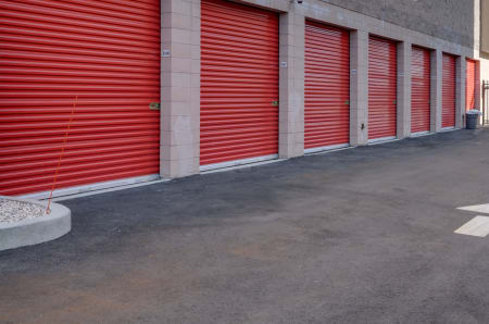 Exterior units at StorQuest Self Storage