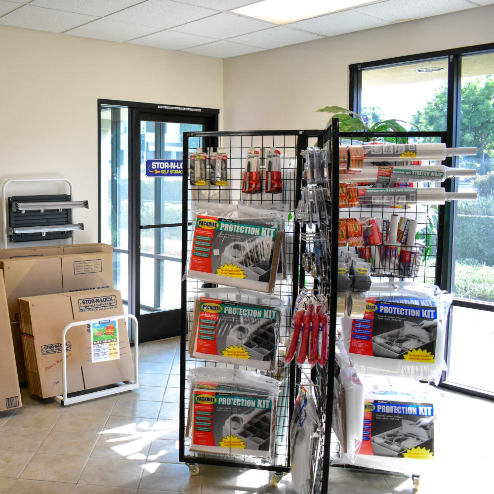 Moving supplies for sale at STOR-N-LOCK Self Storage in Rancho Cucamonga, California