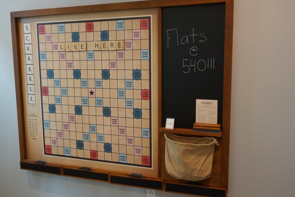 Fun hang out spot at Flats At 540