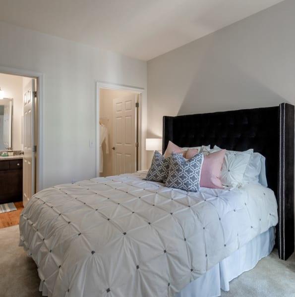 Spacious bedroom at The Royal Athena in Bala Cynwyd, Pennsylvania