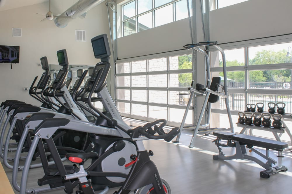 24-Hour Fitness Center at Springs at Round Rock in Round Rock, TX