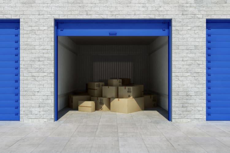 Storage unit at Storage Star in Modesto, California