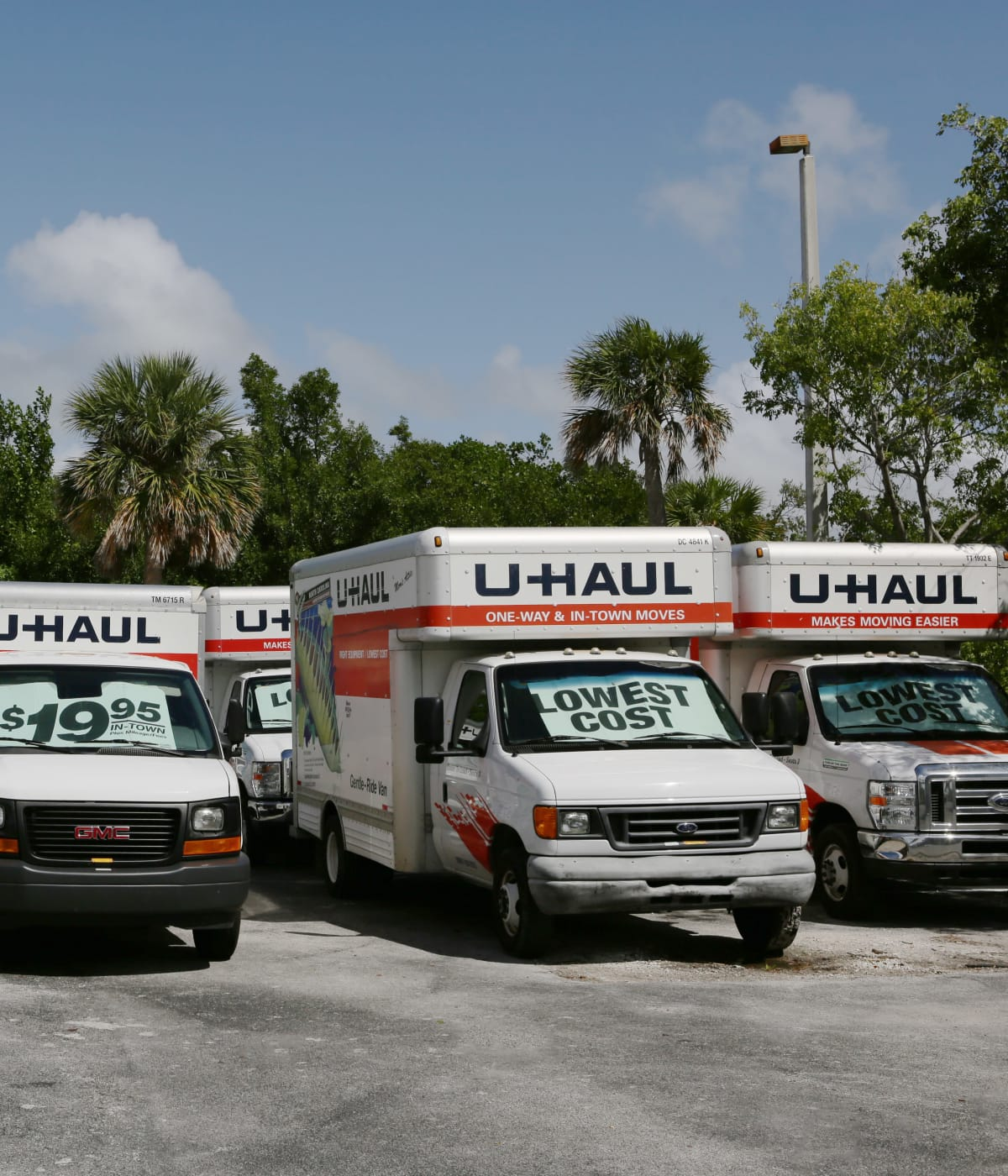 Midgard Self Storage in Key West, Florida, has moving trucks for rent