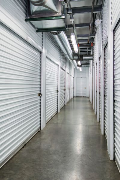 Storage units inside of Butterfield Ranch Self Storage in Temecula, California