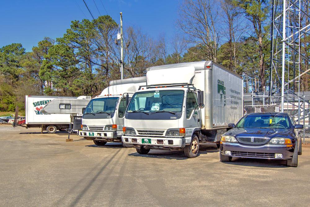 Outdoor parking at Prime Storage in Marietta, Georgia