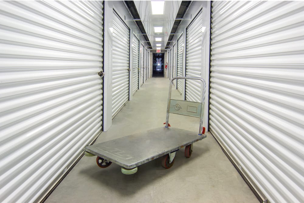 Hand cart at On Site Storage in Hammonton, NJ