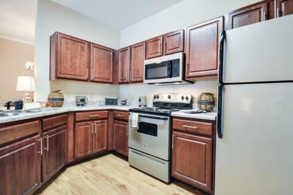 Kitchen at Arbor Village in Summerville, South Carolina