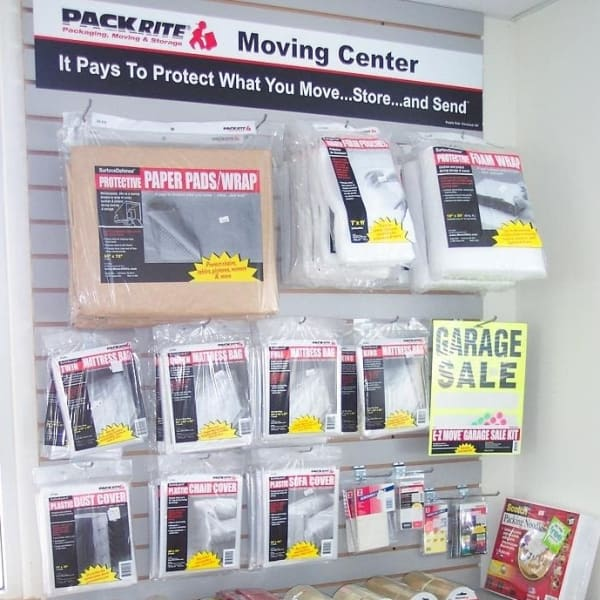 Moving supplies available at StorQuest RV and Boat Storage in Moreno Valley, California
