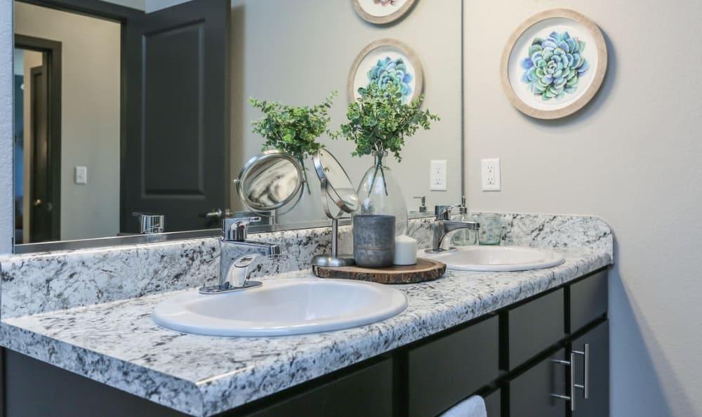 Large Master Bathroom at Springs at Cottonwood Creek Apartments