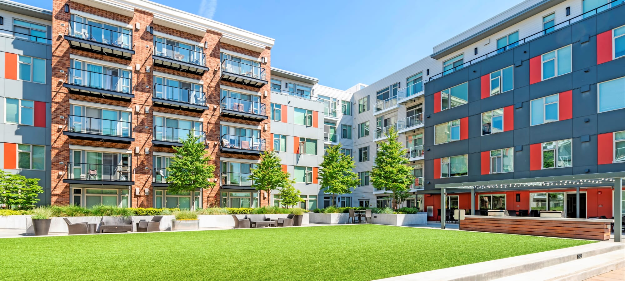 Apartments at The Maverick in Burien, Washington