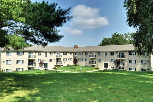 Apartment buildings at Stonegate at Devon Apartments in Devon, Pennsylvania