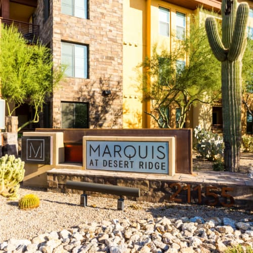 Resident referral bonus at Marquis at Desert Ridge in Phoenix, Arizona