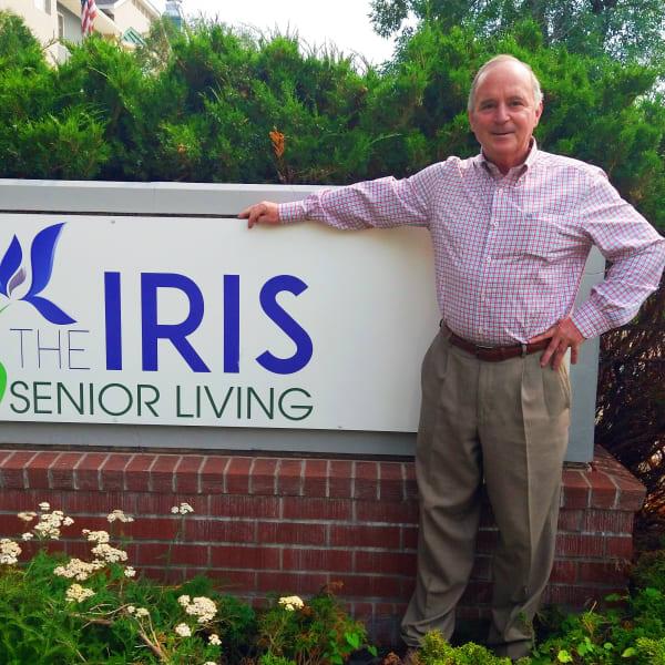 Todd Redbath, Community Relations Director at The Iris Senior Living in Great Falls, Montana