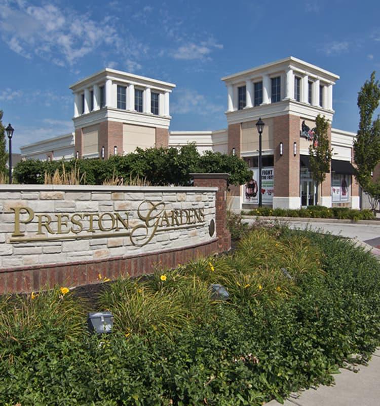 Great neighborhood at Preston Gardens in Perrysburg, OH
