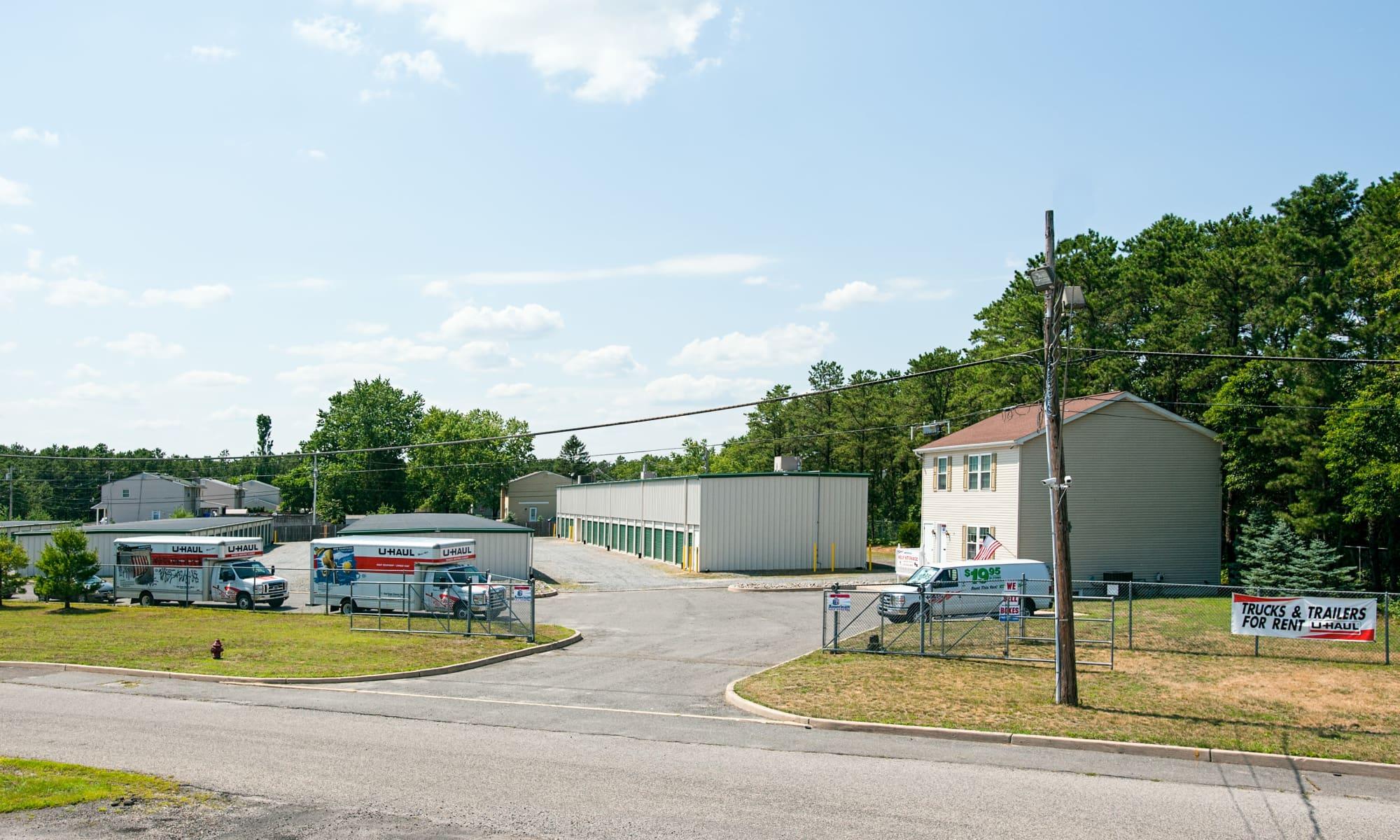 Self storage in Lakehurst New Jersey