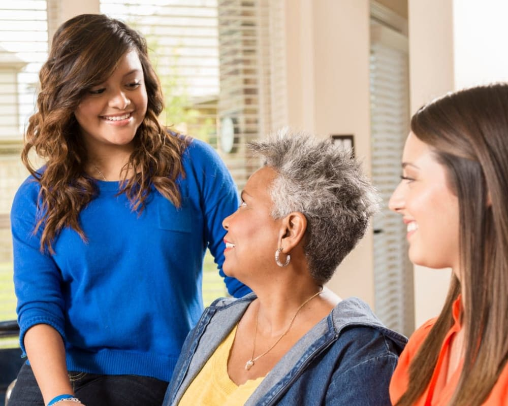 Family members welcome to visit at Carolina Assisted Living in Appleton, Wisconsin.
