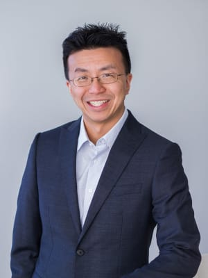 Michael Chang at Edgewood Management in Gaithersburg, Maryland