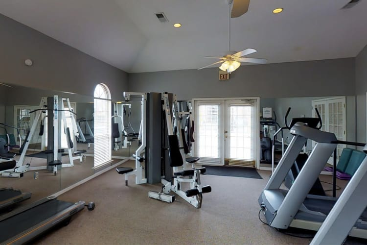 Fitness Center at Annandale Gardens in Olive Branch, Mississippi