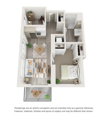 1 Bedroom Supportive Living Suite at The Vista in Esquimalt, British Columbia