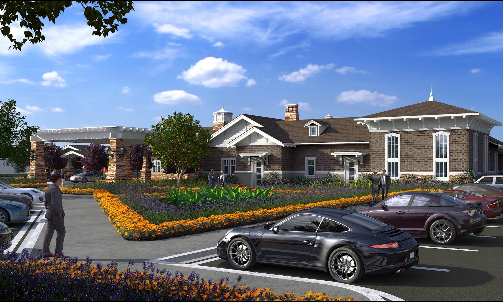 Senior living at Clearwater at North Tustin in Santa Ana, California