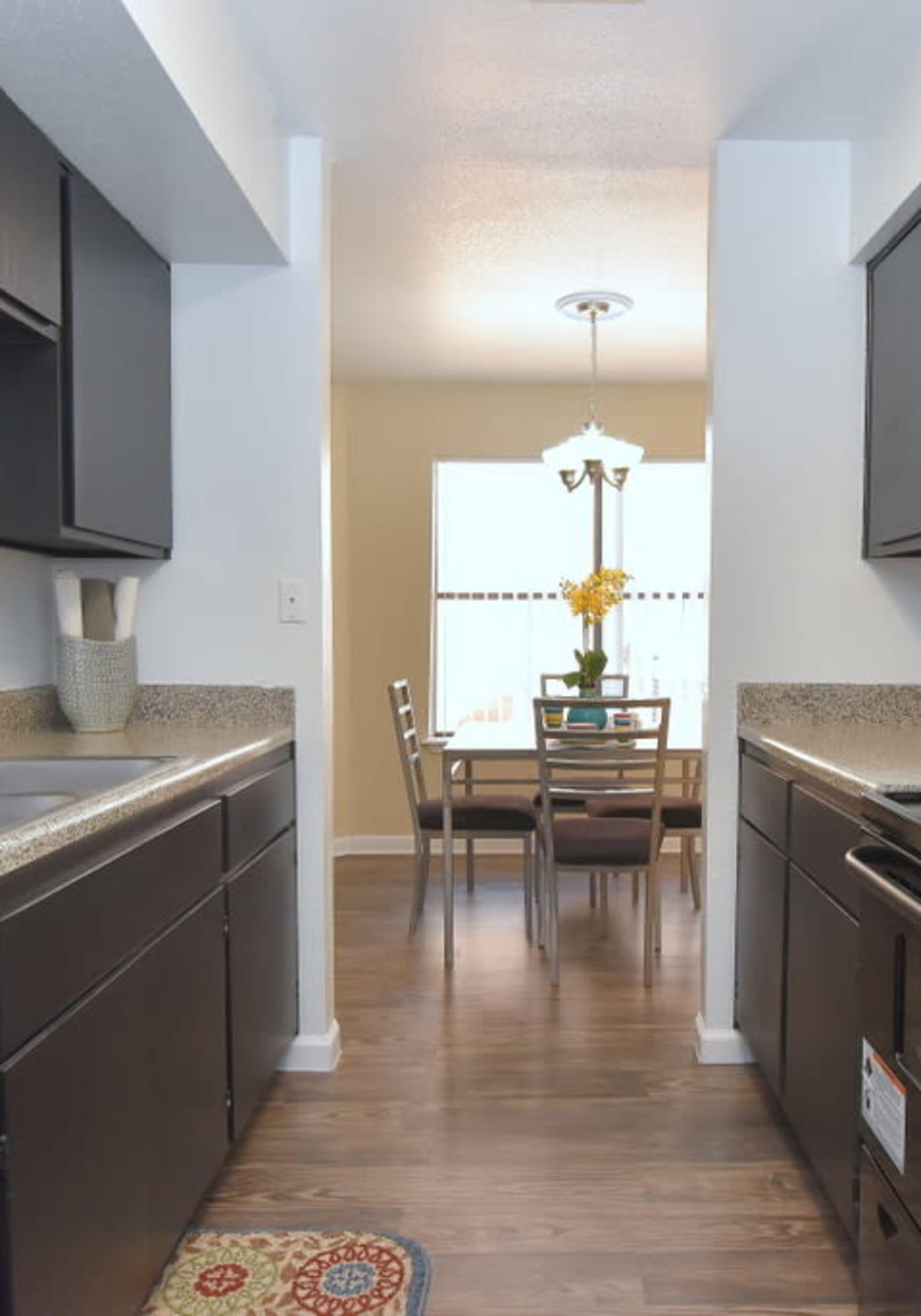 Gorgeous kitchen at Green Meadows Apartments