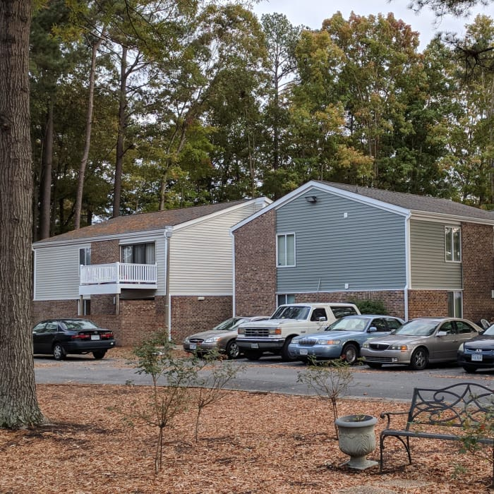 Parking lot at Residences at Sonoma Woods inNewport News, VA