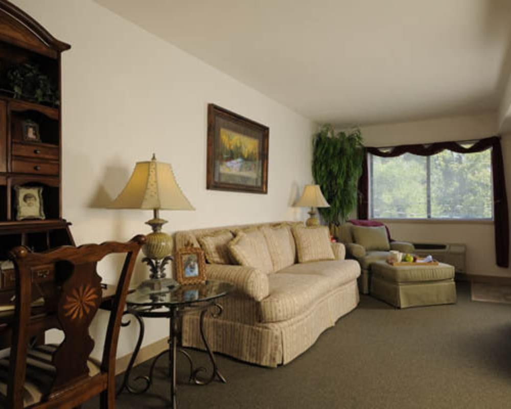 Resident apartment at Willow Creek Senior Living in Elizabethtown, Kentucky.