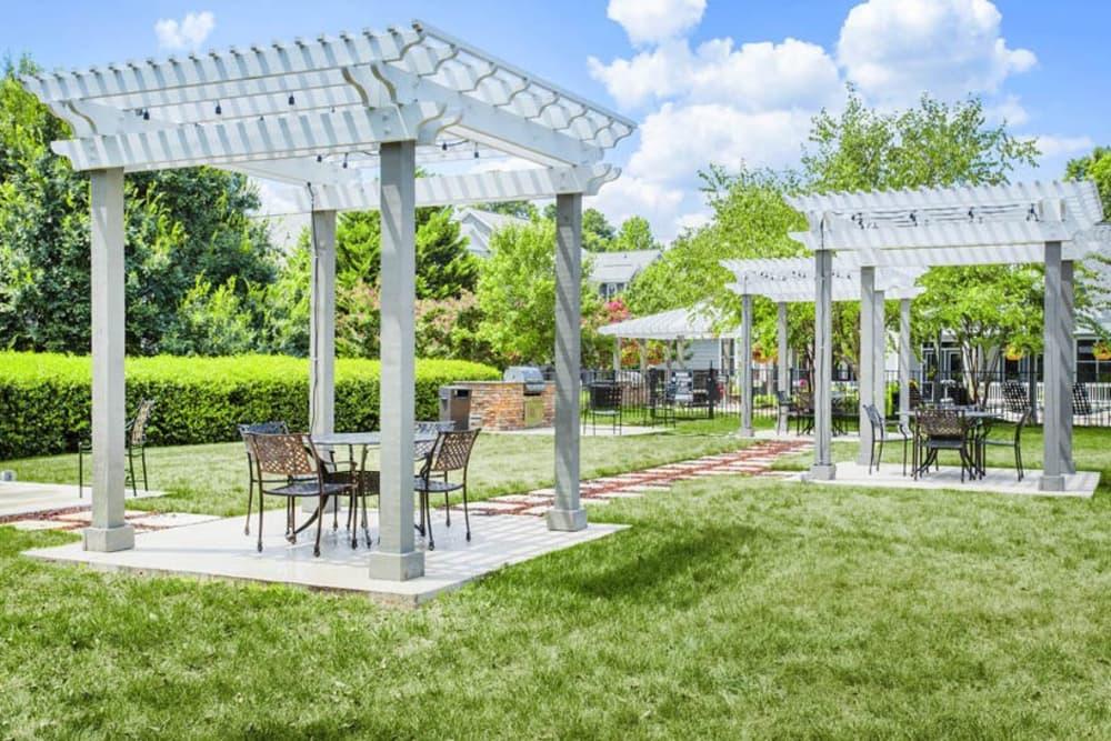 Courtyard at The Seasons at Umstead in Raleigh, North Carolina