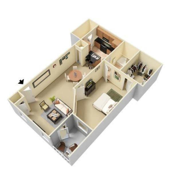 Luxury 1, 2 & 3 Bedroom Apartments In Cordova, TN